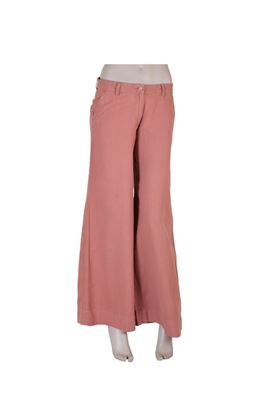 Picture of Serendipity Collection: Muslin Broad Straight Leg Trousers