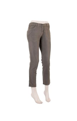 Picture of Requiescence Collection: Muslin Straight Fit Ankle Length Trousers