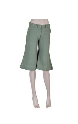 Picture of Serendipity Collection: Muslin Knee Length Flared Capris