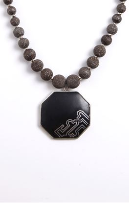 Picture of Casablanca Collection: Bidri Pendant on Necklace