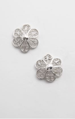 Picture of Sava Collection: Filigree Floral Studs