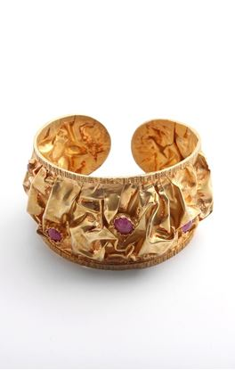 Picture of Venus Collection: Adjustable Cuff with Rubies