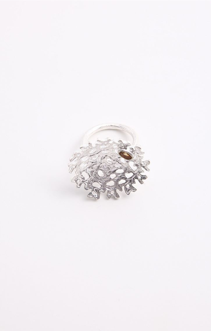 Caravan Evolved Indic Craft - Aine Collection: Silver Finger Ring ...