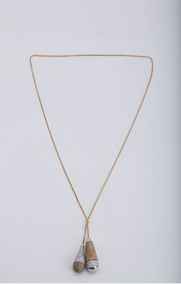 Picture of Mohenjodaro Collection: Dhokra Limited Edition Drop Shape Pendant