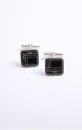 Picture of Casablanca Collection: Bidri Square Cufflinks