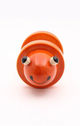 Picture of Toddlers Collection: Channapatna Fro-gee Wooden Rolling Rattle