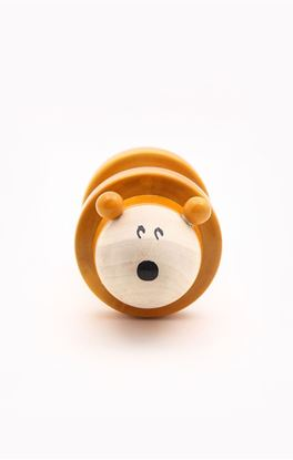 Picture of Toddlers Collection: Channapatna Chee-zee Wooden Rolling Rattle