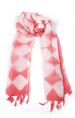 Picture of Serendipity Collection: Tie and Dye Linen Stole