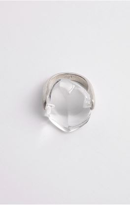 Picture of Venus Collection: Crystal Quartz Silver Ring
