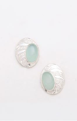 Picture of Lyn Collection: Oval Ear Studs