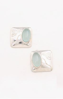 Picture of Lyn Collection: Square Ear Studs