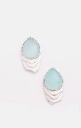 Picture of Lyn Collection: Drop Shape Ear Studs