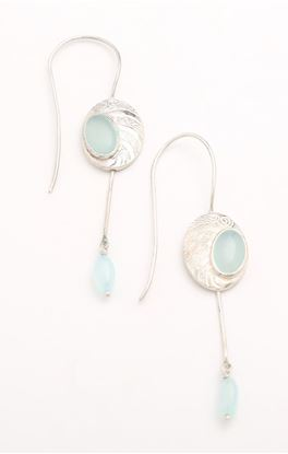 Picture of Lyn Collection: Danglers With Onyx Drops