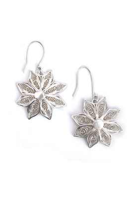 Picture of Sava Collection: Filigree Floral Dangler