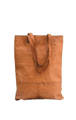 Picture of Mustang Collection: Vegetable Tanned Leather Long Tote Bag
